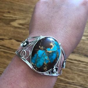 Southwest Style by Jtv blue Mohave king man cuff